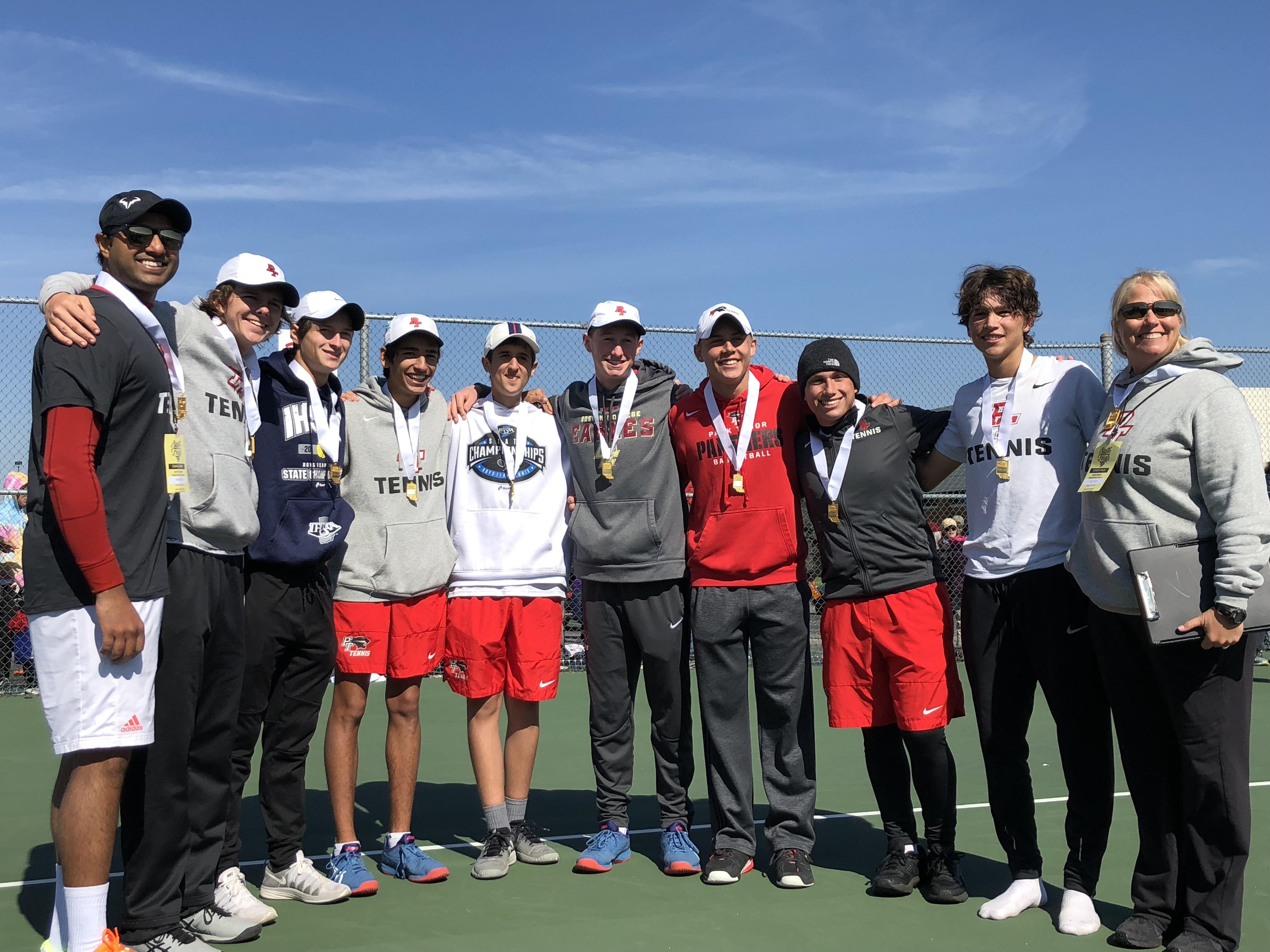 Park Tudor Boys Tennis 2018 State Quarter Finals