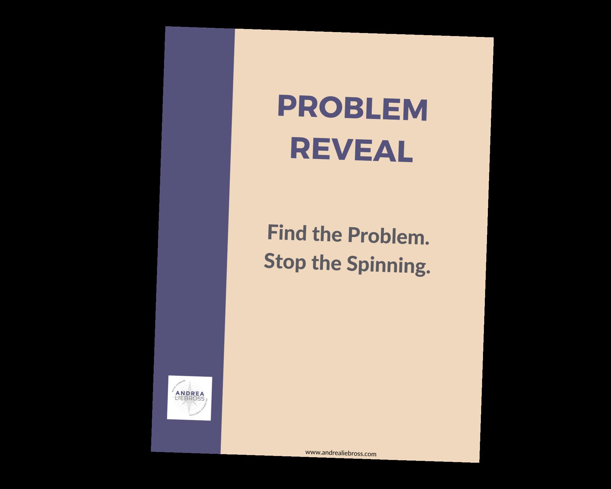 problem reveal cover