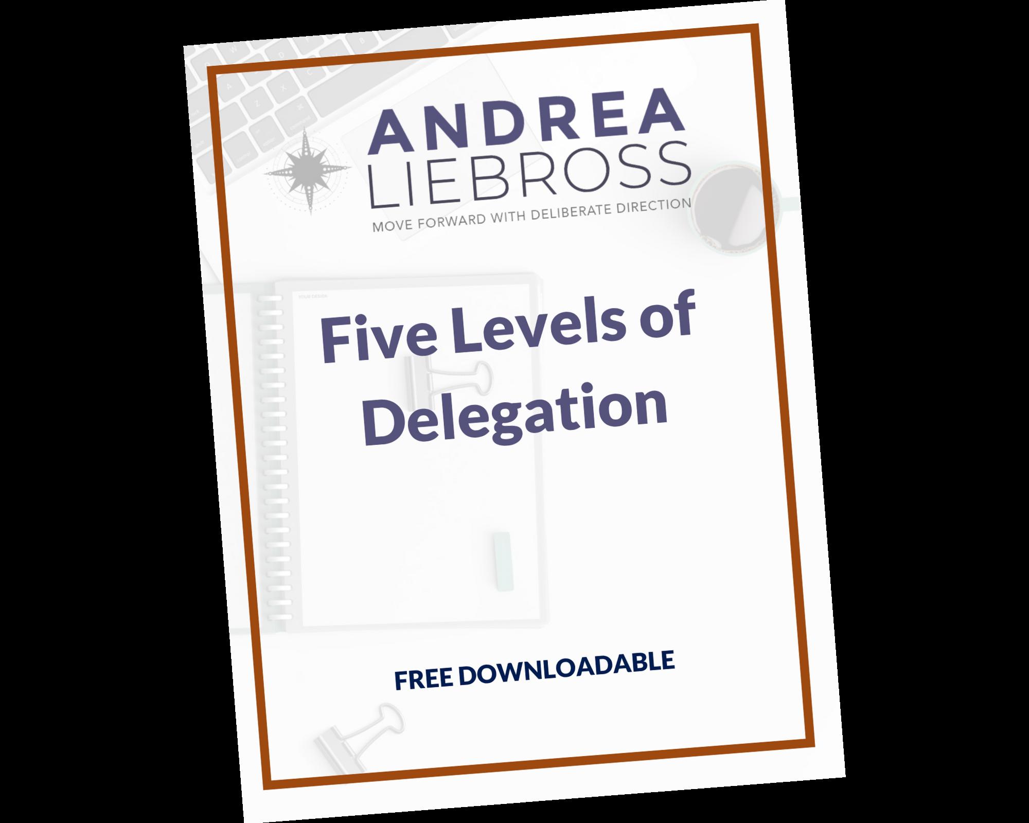 Five Levels of Delegation